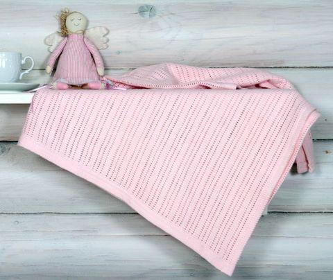 Элитный плед детский Lux 37 розовый от Luxberry