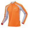 Беговая футболка ASICS CENTAURI WINTER TOP с длинным рукавом оранжевая