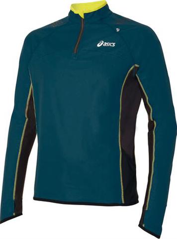 Беговая футболка Asics M'S TRAIL 1/2 ZIP L/S TOP  с длинным рукавом
