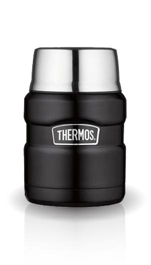 Термос для еды Thermos King SK3000 (0,47 литра) черный