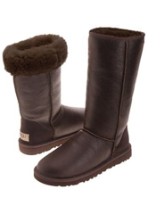 UGG Classic Tall Metallic Chocolate
