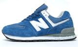 Кроссовки Мужские New Balance 574 Classic All Blue