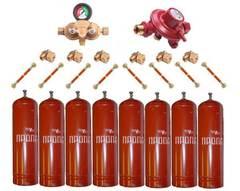 Установка GOK на 8 металлических баллонов  (Премиум)