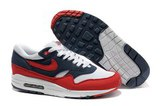 Кроссовки мужские Nike Air Max 87 Red White DBlue