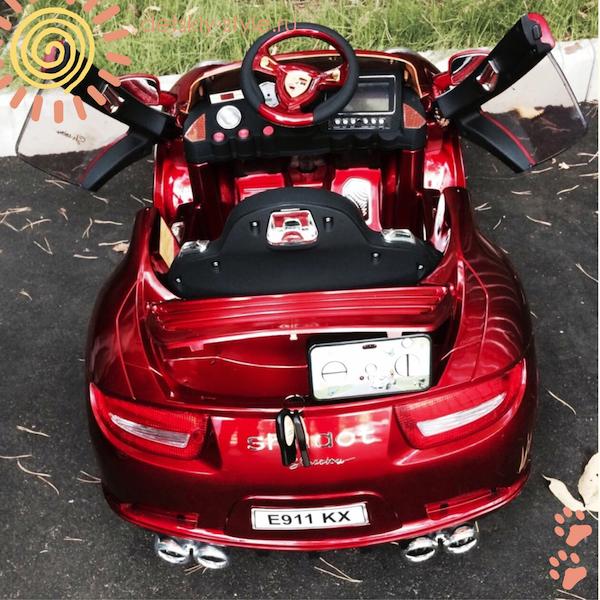 porsche e911kh электромобиль
