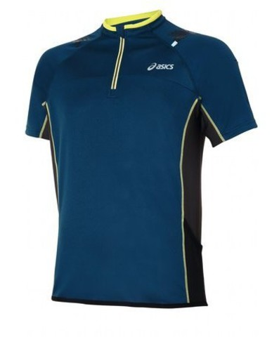 Беговая футболка Asics M's  TRAIL  1/2  ZIP  S/S  TOP
