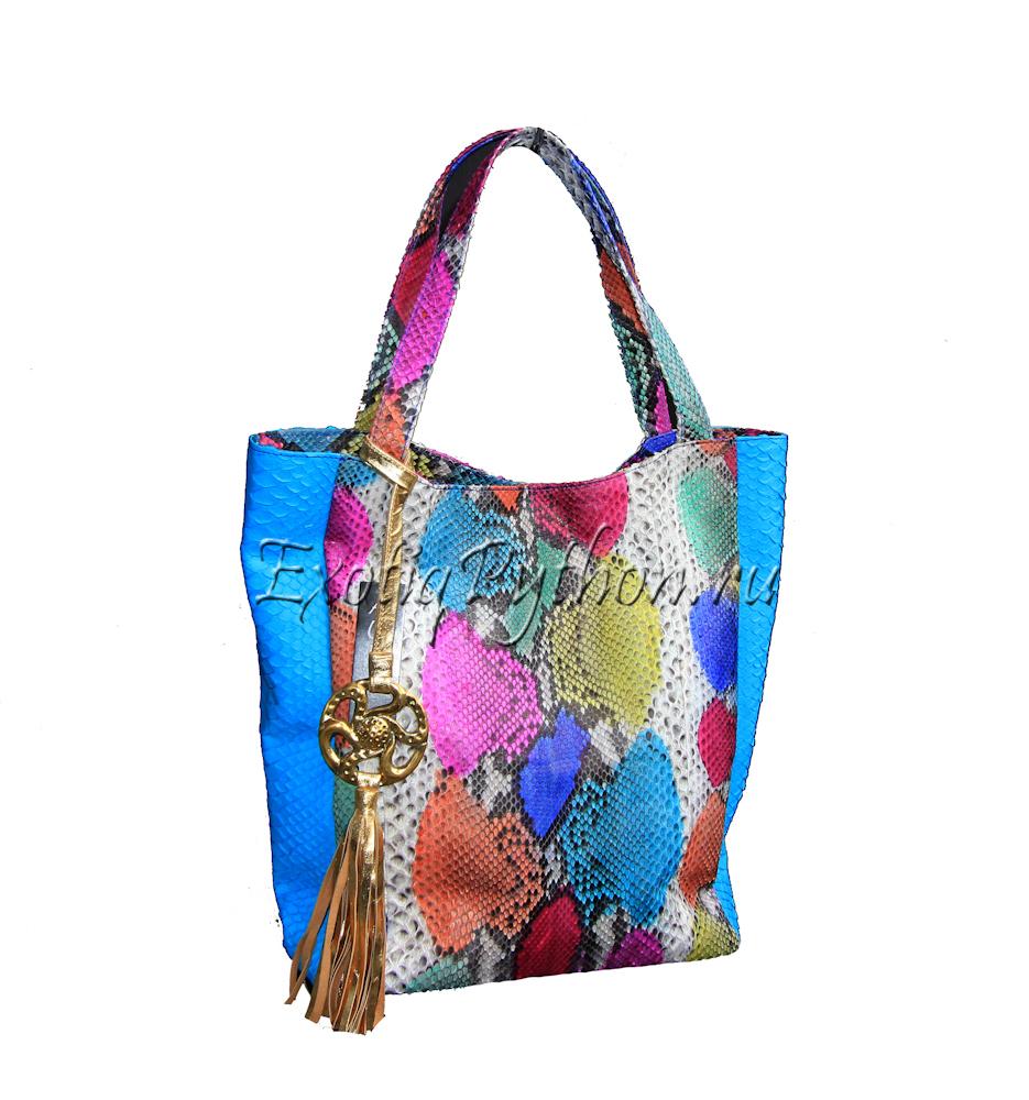 Женская сумка из кожи морской змеи - Сумки женские
