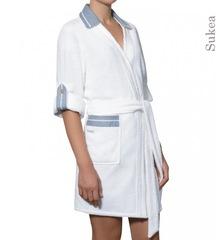 Халат-кимоно махровый Timas Sukea белый