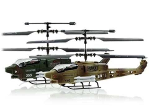 Радиоуправляемый вертолет JXD Air Raptor 353 (набор из 2 шт.) с гироскопом (код: jxd353)