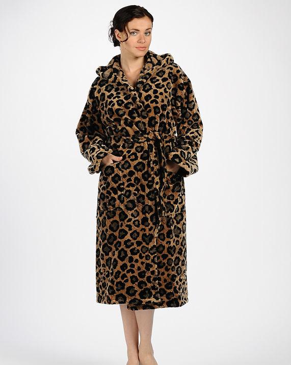 Элитный халат велюровый Ghepardo от Emanuel Ungaro