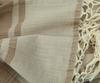 Плед 130х180 Hamam светло-коричневый