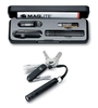 Купить Набор Victorinox 4.4014 (нож-брелок 0.6223.3, светодиодный фонарь Maglite Solitaire, 8 см, чёрный) по доступной цене
