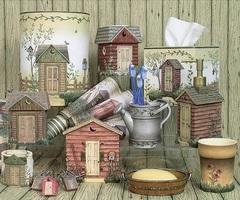 Стакан для зубной пасты Outhouses от Avanti