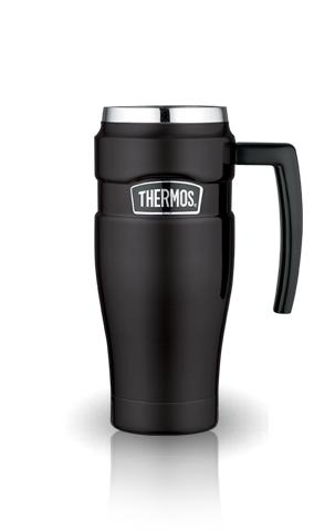 Термокружка Thermos King SK1000 (0.47 литра) черная