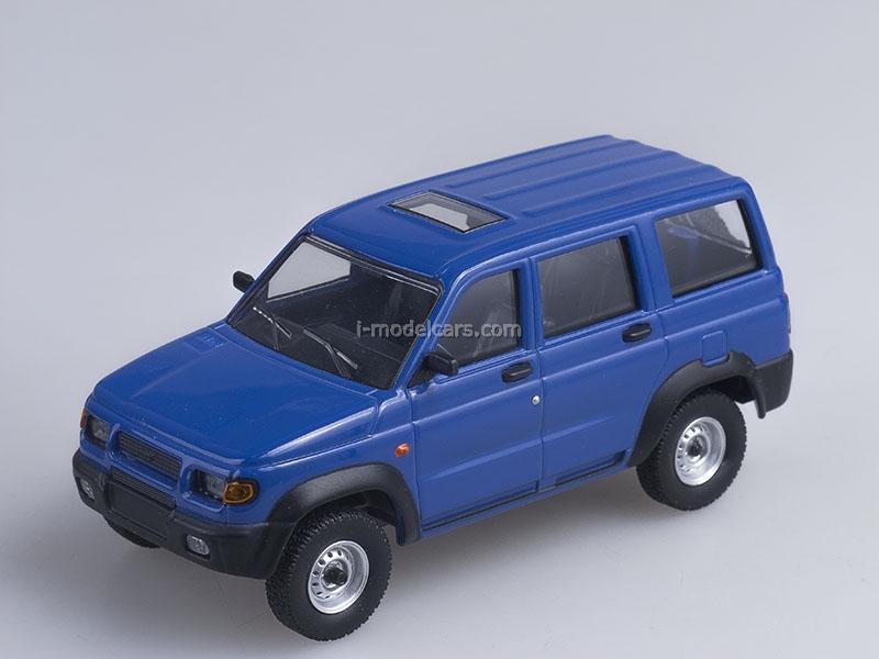 UAZ-3162 Simbir blue 1:43 AutoHistory