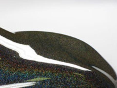 Краска Star Dust блестки призматические Silver Prizm / Серебряный 100/100 мкр 50 гр