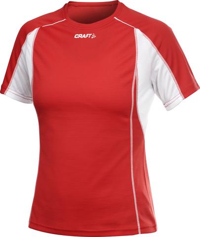 Футболка Craft Track and Field женская красная