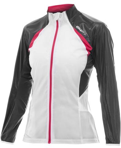 Куртка беговая женская Craft Performance Featherlight white