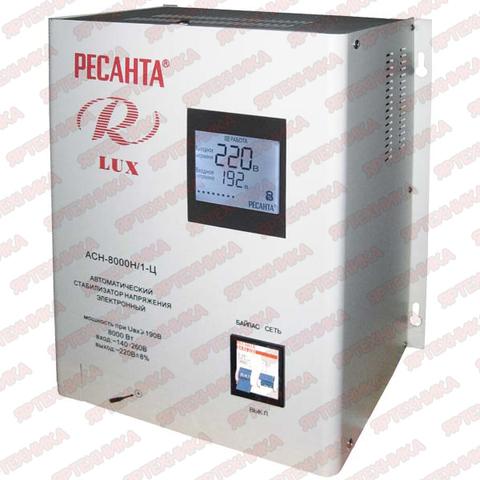 Стабилизатор Ресанта АСН-8 000 H/1-Ц Lux