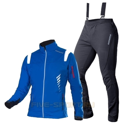 Лыжный костюм унисекс Noname Flow in Motion синий
