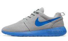 Кроссовки Мужские Nike Roshe Run Material Grey Blue