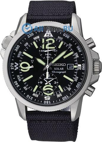 Купить Мужские японские наручные часы Seiko SSC135P1 по доступной цене