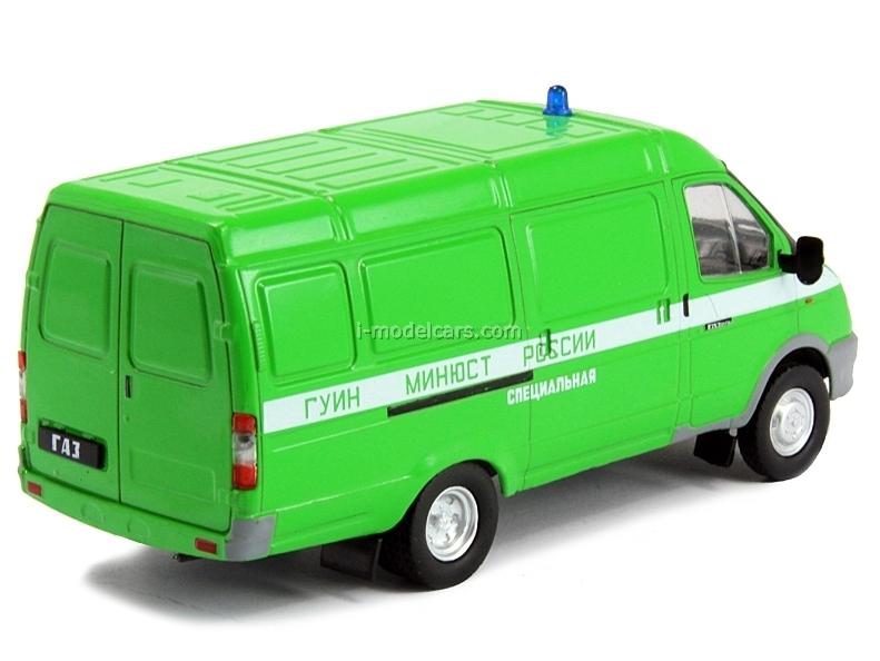 GAZ-2705 Gazelle FSIN Federal Penitentiary Russia 1:43 DeAgostini Service Vehicle #41