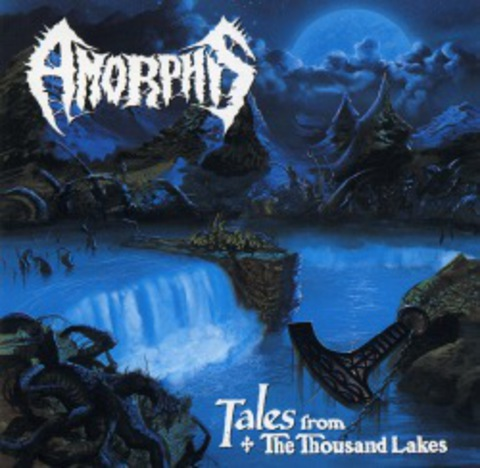 AMORPHIS   TALES FROM THE THOUSAND LAKES + 5 bonus tracks  1994
