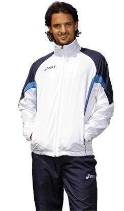 Мужской спортивный костюм ASICS SUIT EUROPE белый (T653Z5 0150)