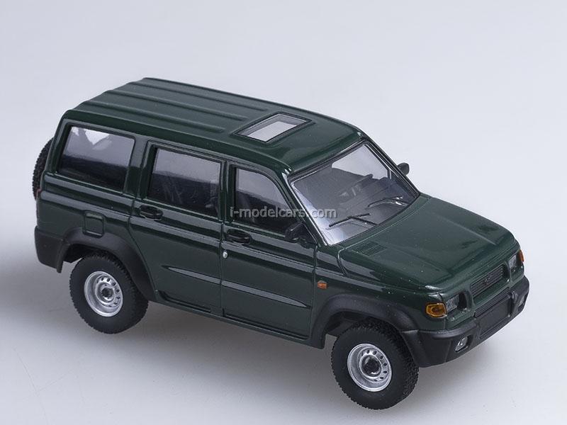 UAZ-3162 Simbir green 1:43 AutoHistory