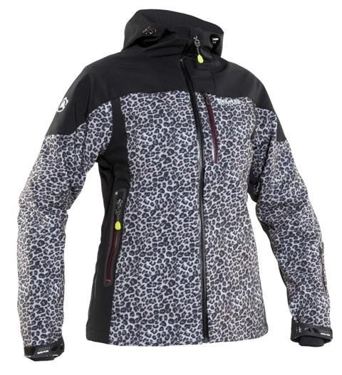 Женская куртка 8848 Altitude TEKSAS leopard (6780Н8)