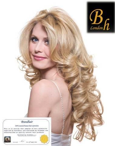 Вьющиеся волосы оттенок 613-блонд-68-70 CM-Вес набора 135 грамм