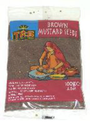 Горчица коричневая семена 100 г TRS