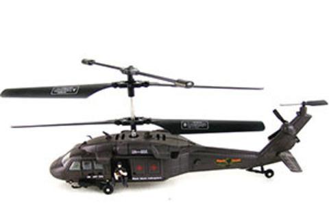 Радиоуправляемый вертолет Attop Black Hawk UH-60 YD-919 с гироскопом (код: YD-919)