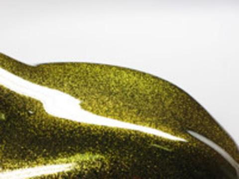 Краска Star Dust блестки призматические Gold Prizm / Золотой 100/100 мкр 50 гр