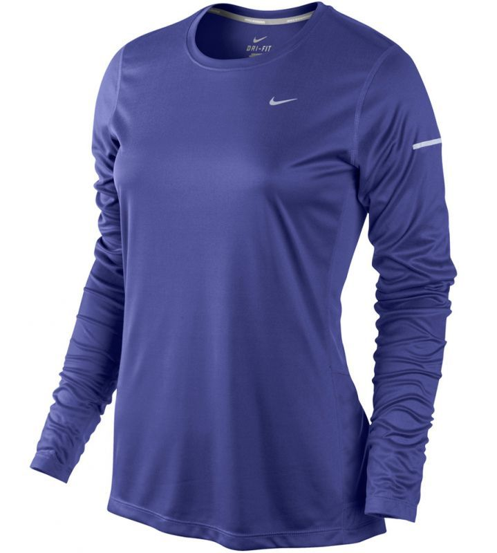 Футболка Nike Miler LS UV Top (W) /Рубашка беговая