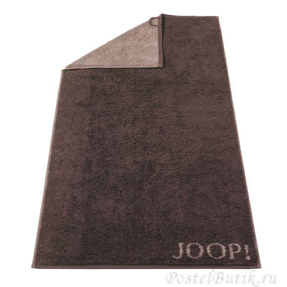 Полотенце 50x100 Cawo-JOOP! Classic Doubleface 1600 коричневое