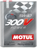 Motul 300V Power 5W40 Cинтетическое моторное масло для SUBARU WRT, World Rally championship, Formula Renault.
