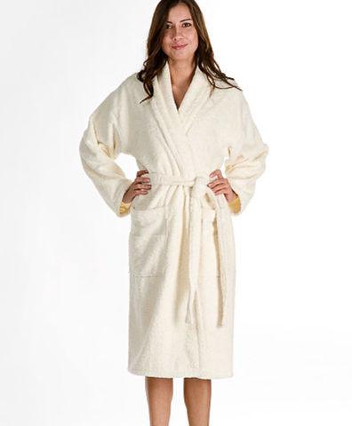 Элитный халат махровый Perle от Emanuel Ungaro