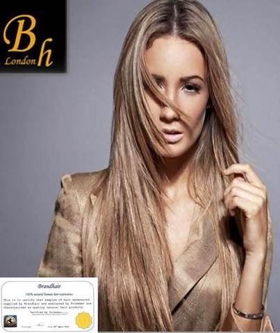 Набор Мега 9 прядей,цвет #19A-Средний нежно пепельно-бежевый блонд-Вес набора 150 грамм