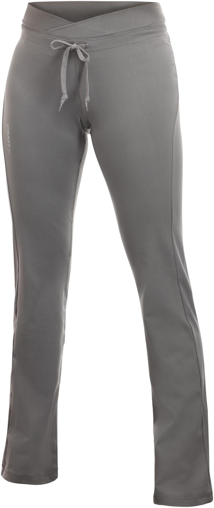 Женские брюки Craft Active Straight серые (193875-1950)