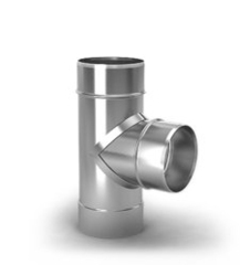 Тройник 90 ТМФ-Термофор ф200, 0,5мм