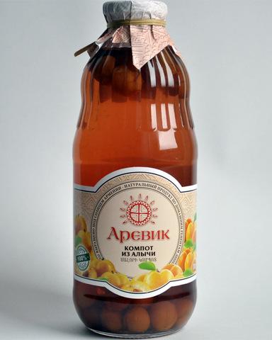 Компот Аревик из алычи, 1л