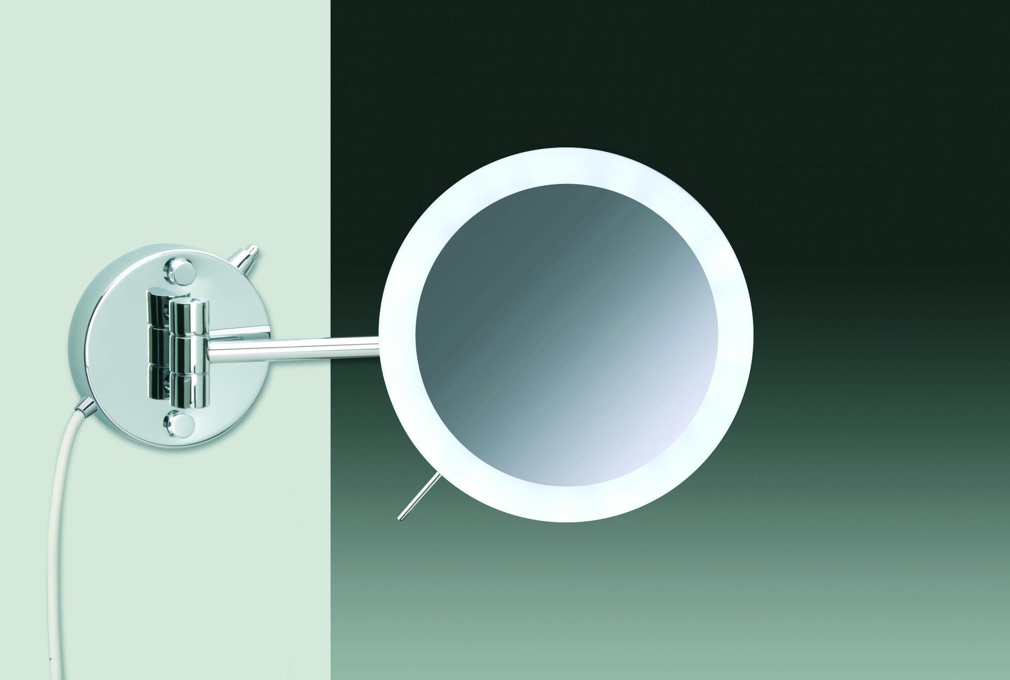 Зеркала Зеркало косметическое Windisch 99654/1CR 5XD elitnoe-zerkalo-kosmeticheskoe-996541-ot-windisch-ispaniya.jpg