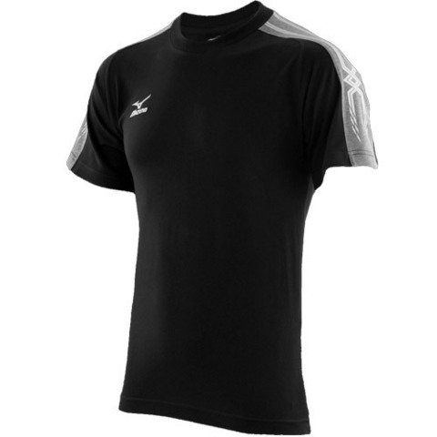 Футболка Mizuno Team Training Tee 150 мужская black