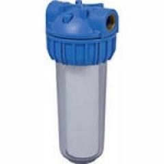 """Водоочиститель PU 902С1-B12-PR-BN-R (прозр.колба, кнопка., 1/2"""", ключ, кроншт, картридж, ), Райфил"""