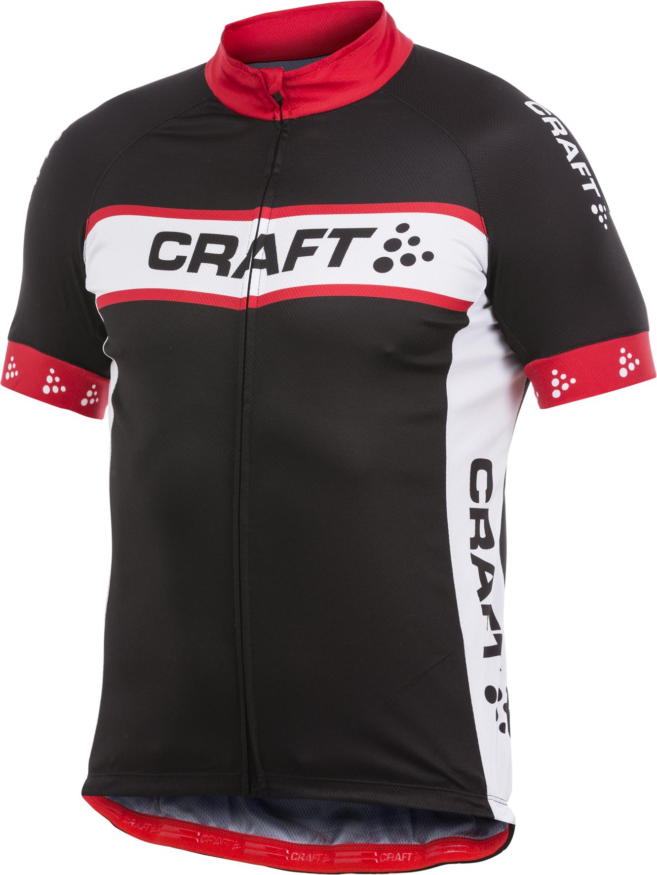 Велофутболка Craft Active Bike Logo мужская черная