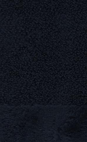 Элитный халат махровый Fyber темно-синий от Carrara