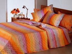 Постельное белье 2 спальное евро макси Caleffi Arcobaleno