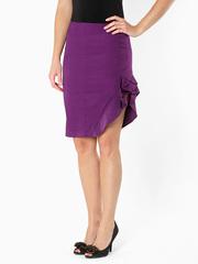 0513-1 юбка фиолетовая